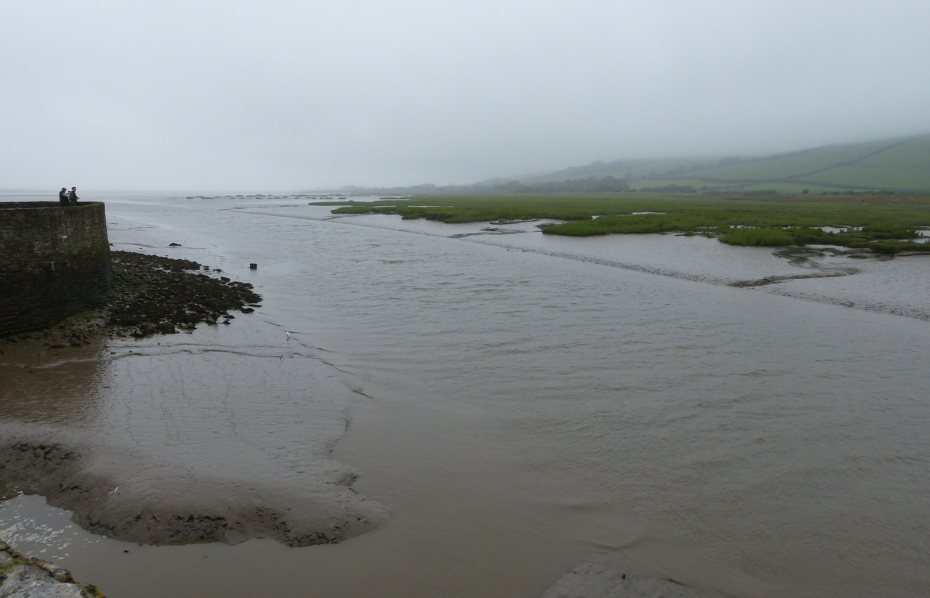 Rainy Kidwelly Quay