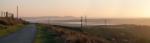 Sunset over Cwm Dulais