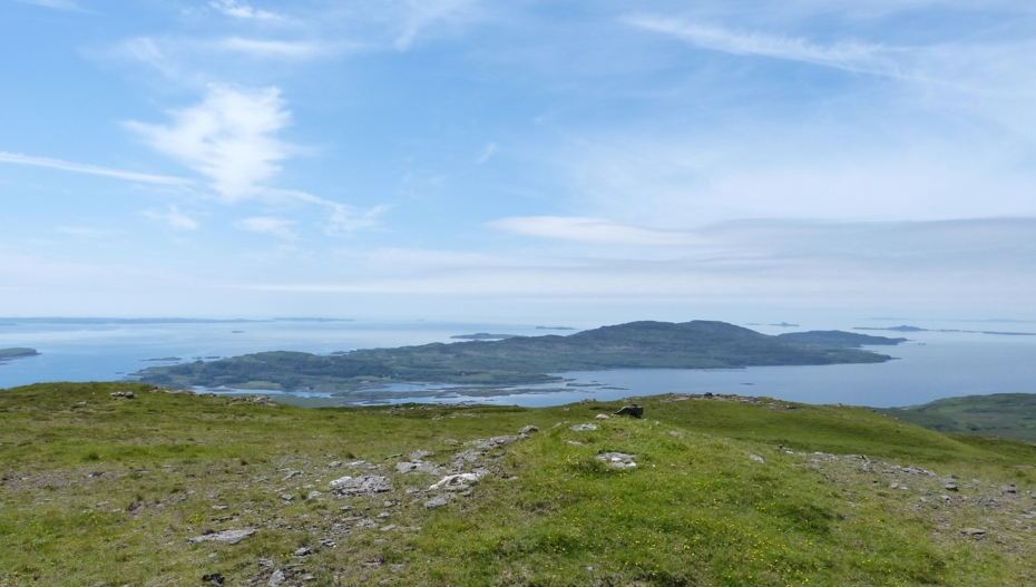 The view, Isle of Mull