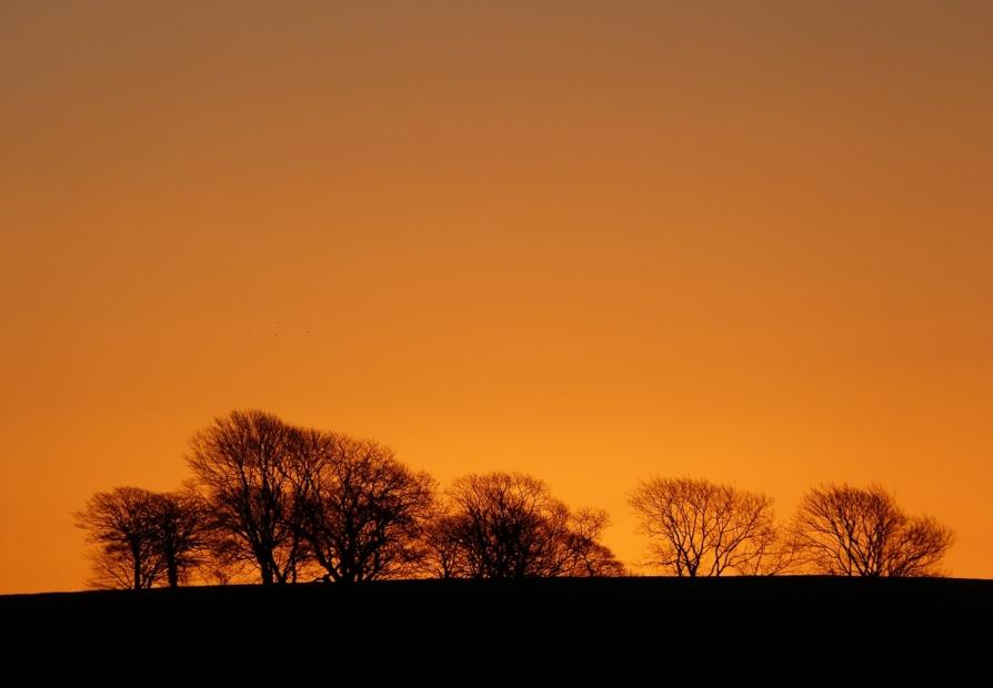 Sunrise from Cefn Drum