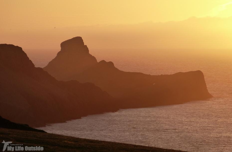 Worm's Head Sunset, Gower
