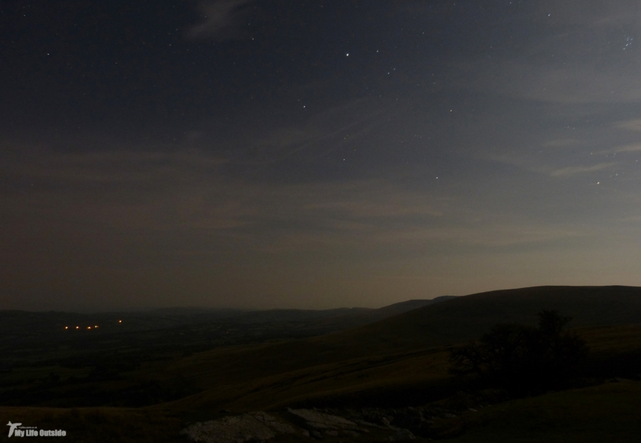 The Brecon Beacons at night