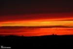 Blazing Sunset over Llanelli