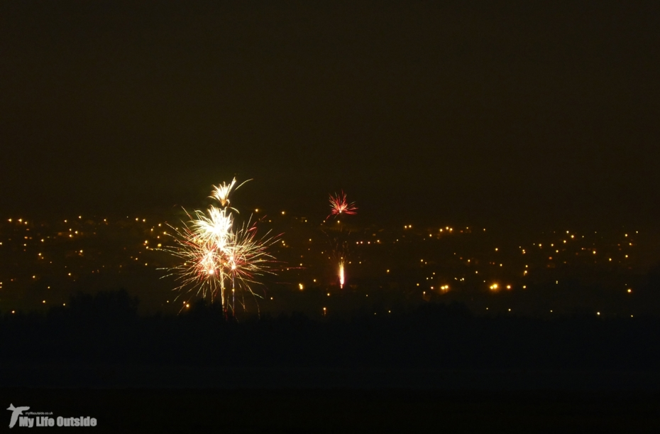 Fireworks from Penclawdd