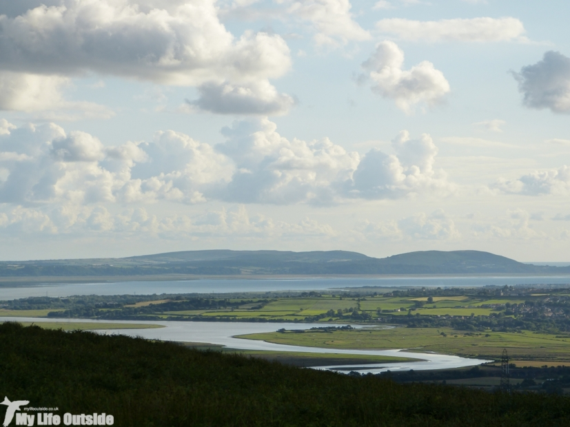 Loughor from Cefn Drum