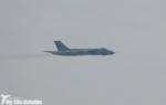 Vulcan XH558 over Barry