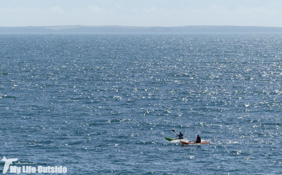 Kayaking from Porthclais