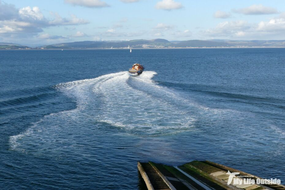 Mumbles Lifeboat Launch