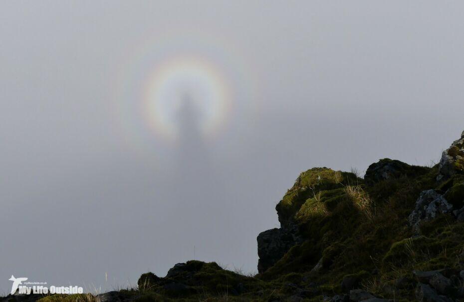 Climbing Ben More, Isle of Mull