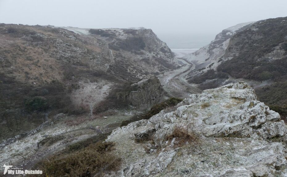 March Snow on Gower