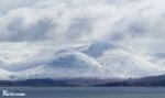Snow on Isle of Mull