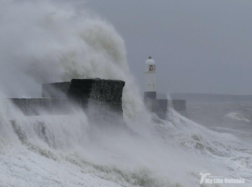 Porthcawl storms